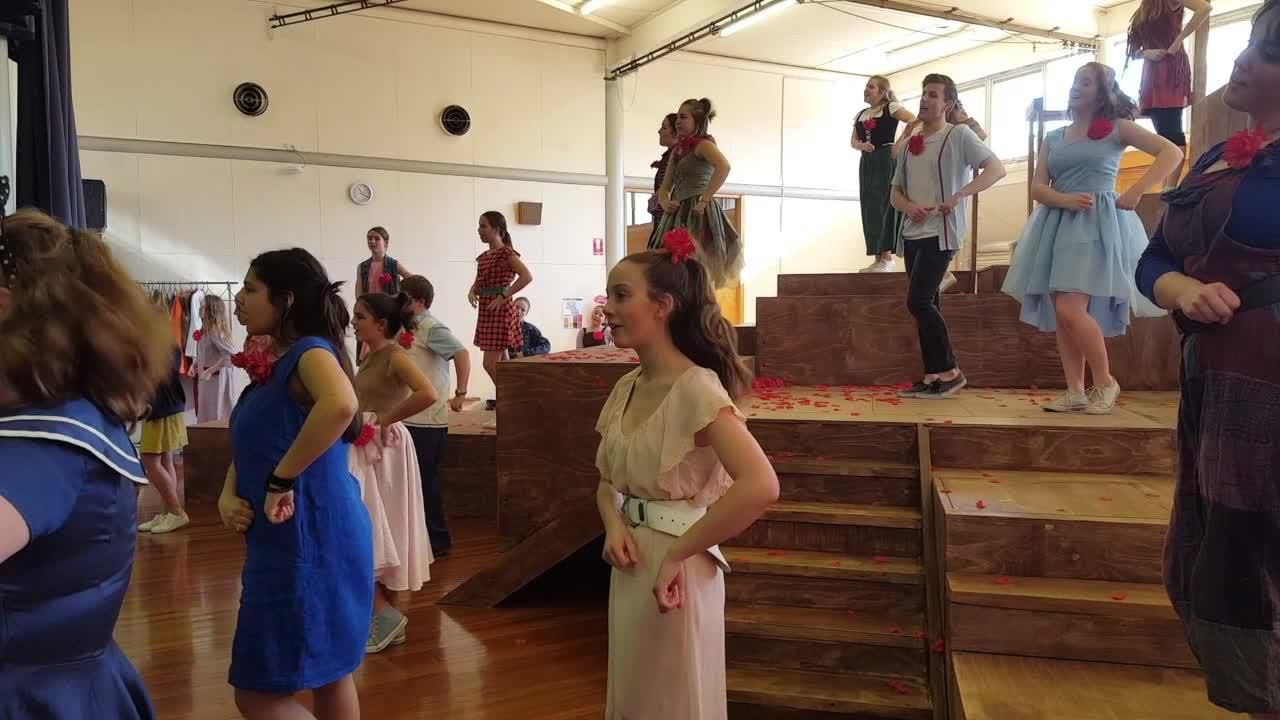 Notre Dame College perform Godspell