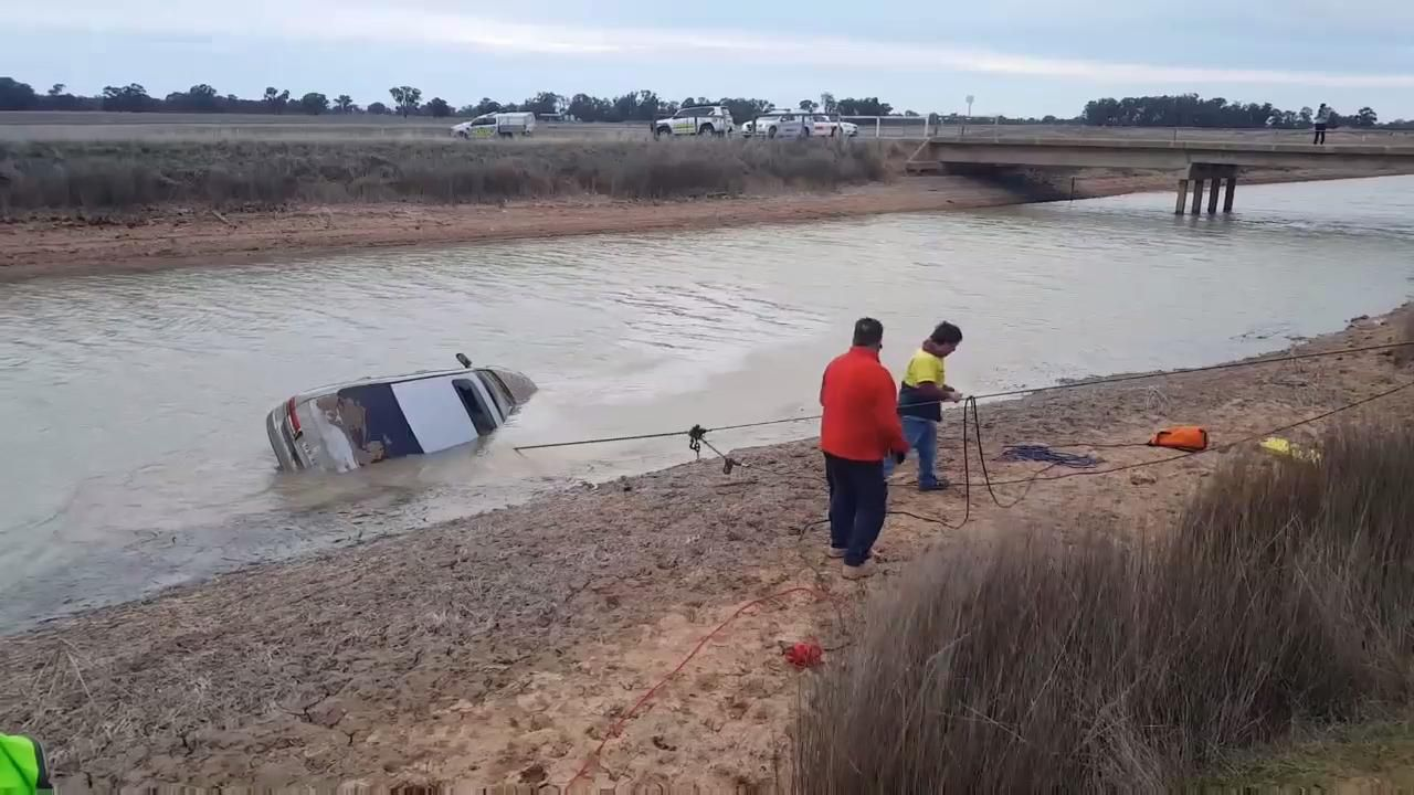 Another car found in East Goulburn Main Channel