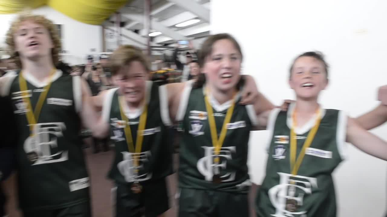 SDJF Under 14 Premiers Murray Bombers 2018
