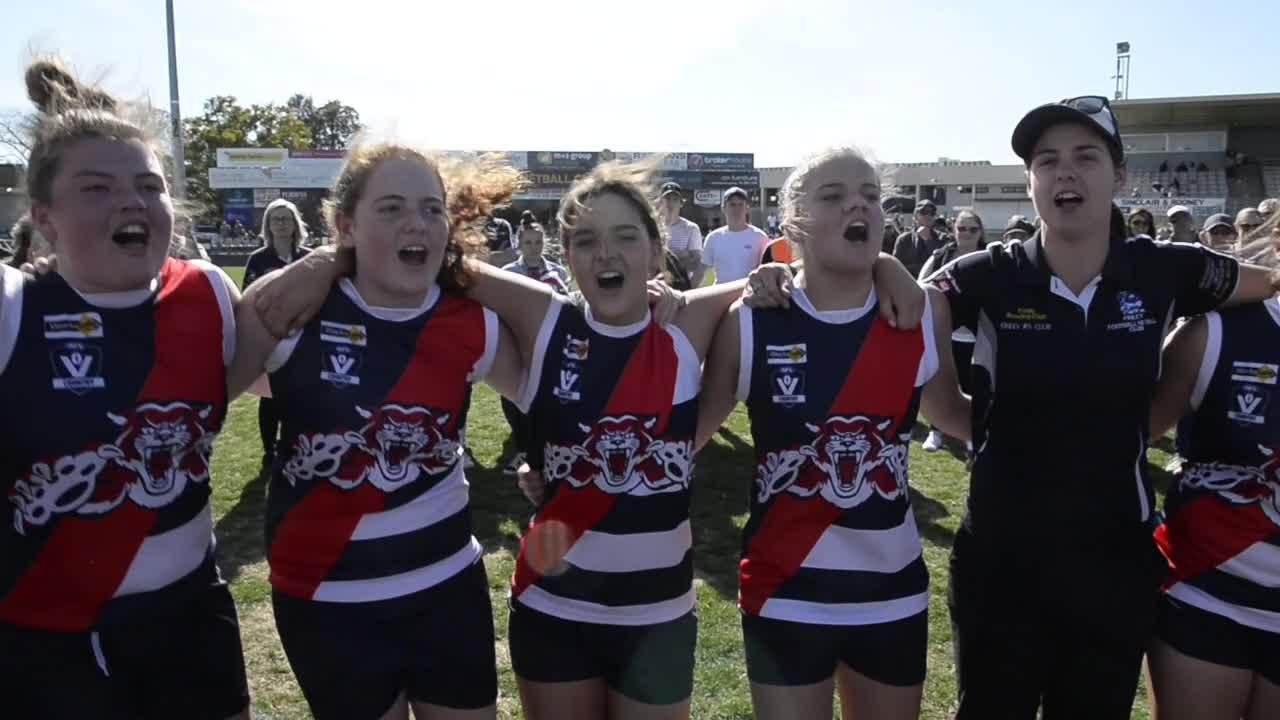 Youth Girls premiers Finley