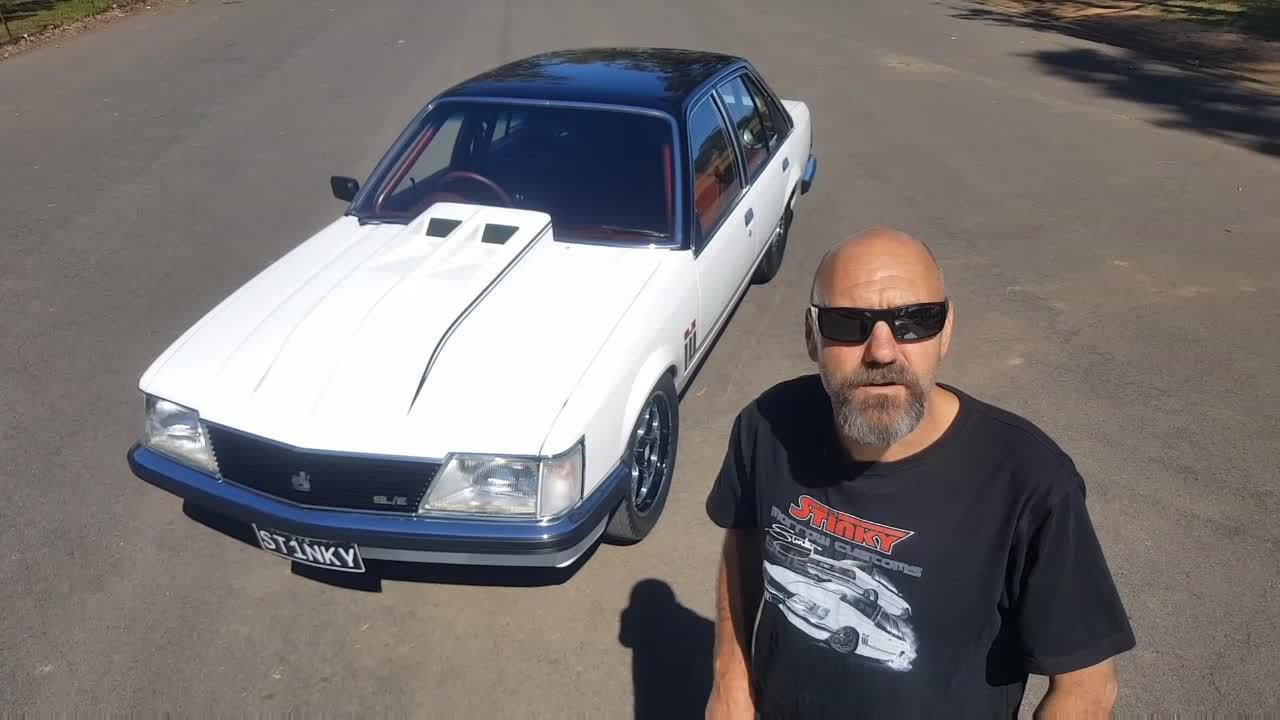 Craig Morrow spent three and a half years restoring his 1983 Holden Commodore