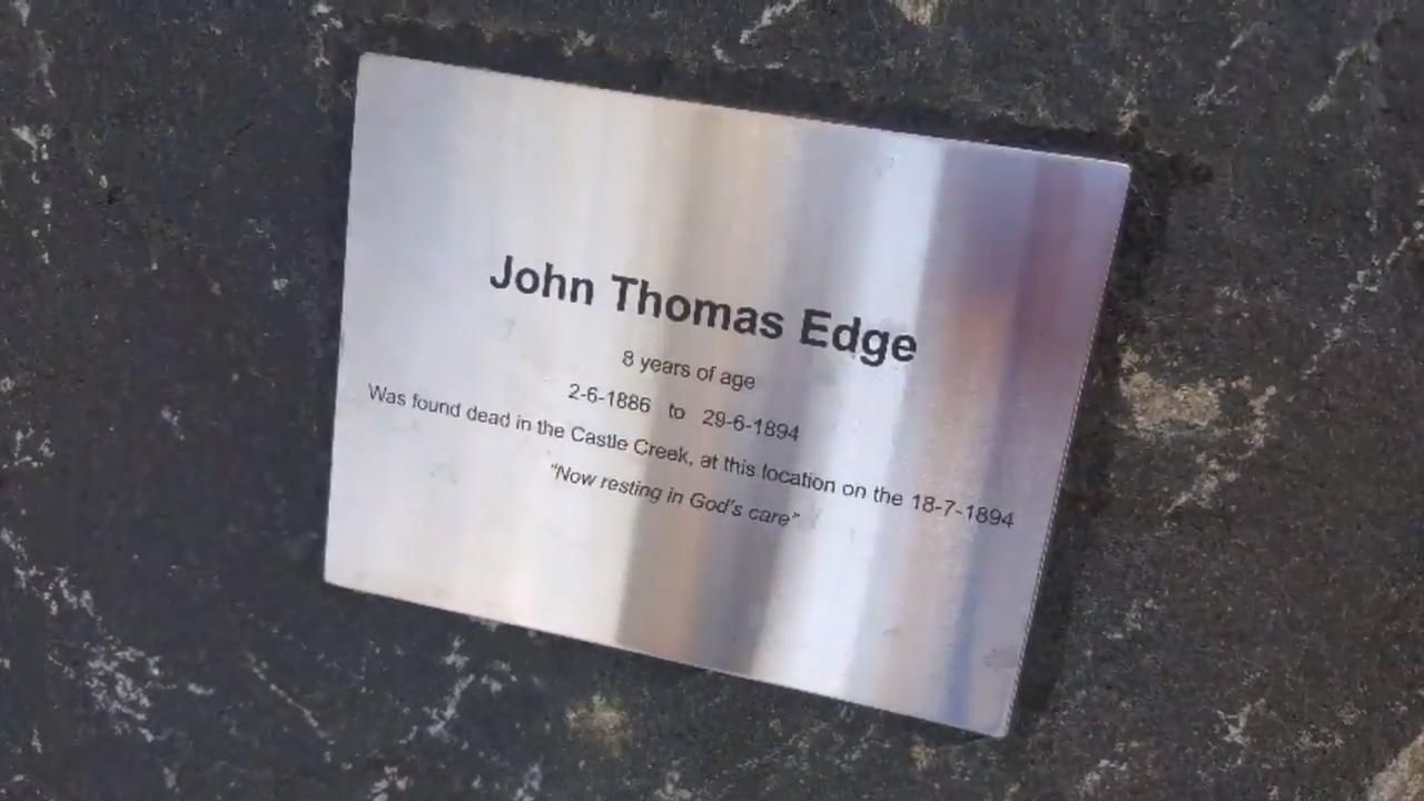 In memory of John Edge