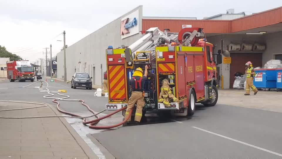 Chemical spill in Shepparton