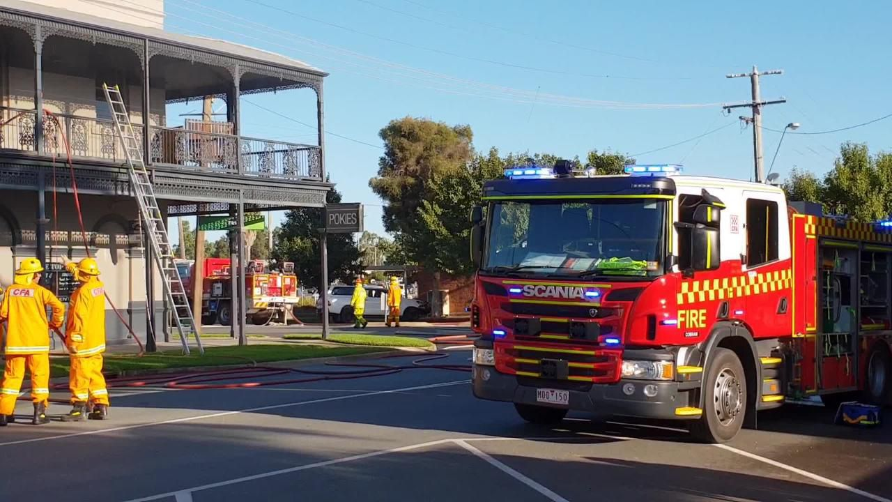 Cobram Hotel fire
