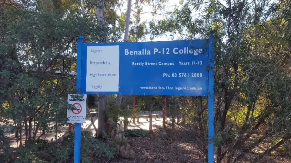 Barkly St Campus Vandalised