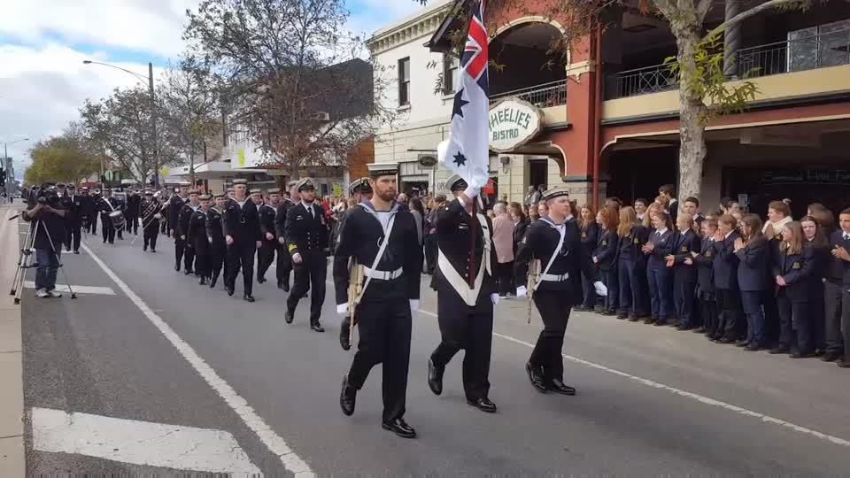 HMAS Benalla Freedom of the City