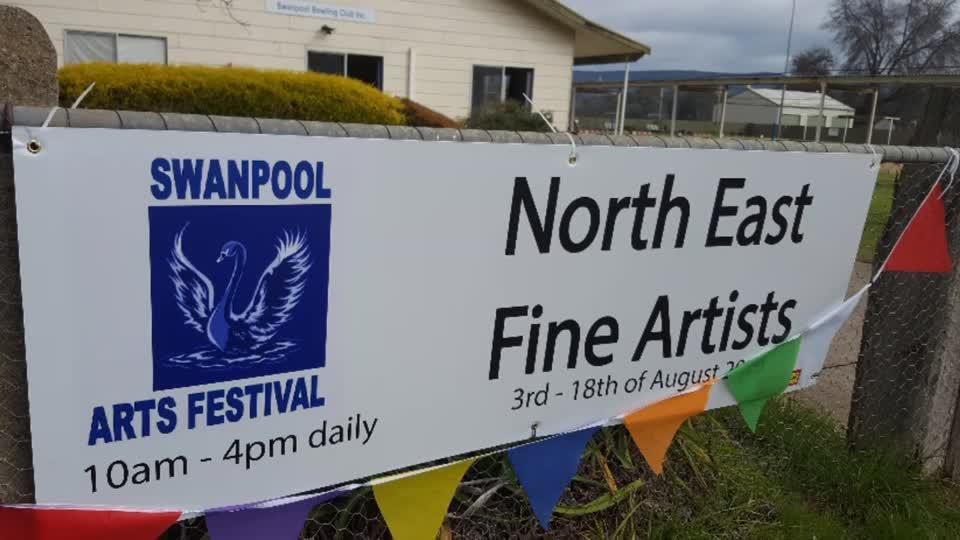 Swanpool Fine Art exhibition