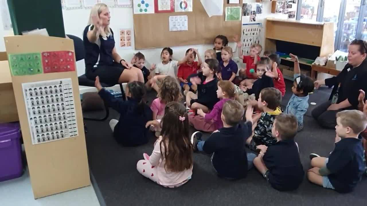 AUSLAN at pre-school a sign of the times